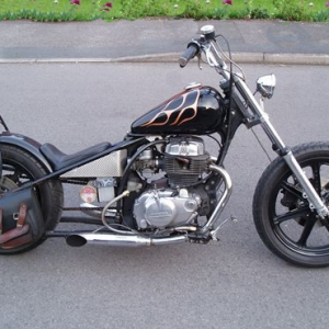 Black Flame Bobber