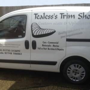 Tealess's New Van
