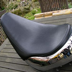 Seat for a Customised Fatboy