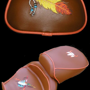 Indian Seat for a Custom Dragstar